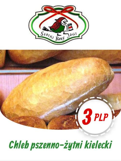 Chleb pszenno-żytni Kielecki